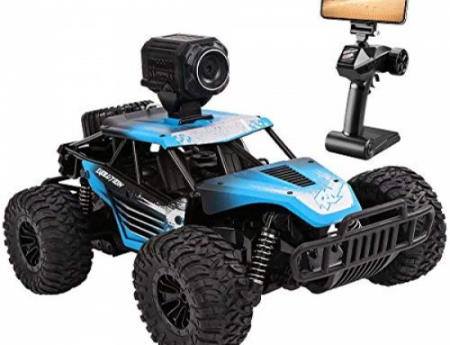RC Automobile, DeXop Most traditional 2.4Ghz four wheel power Off-Side road A long way-off Contorl Automobile with HD Camera &