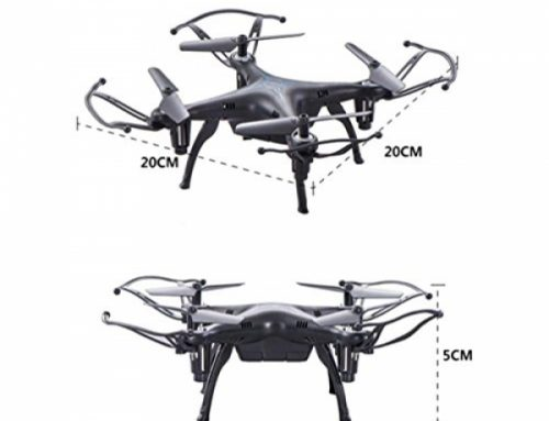 SUKEQ 2.4GHz 4CH 6 Axis Gyro X13 Altitude Take care of Headless Mode RC Quadcopter (Dark)