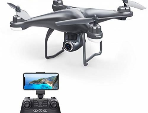 Potensic T25 GPS FPV RC Drone with 720P HD Digicam Live Video 120° Wide-Angle, Auto Return Dwelling, Quadcopter with Apply Me,