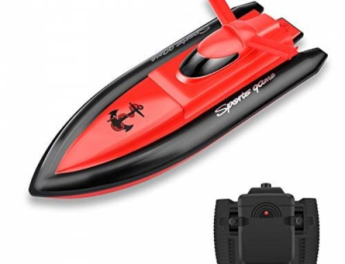 STOTOY Boat Far flung Preserve watch over Boat  for Young of us/Adults ,Excessive Bustle  Digital RC Racing Boat  for Swimming pools and Lakes- Red