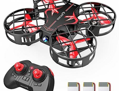 SNAPTAIN H823H Plus Portable Mini Drone for Young folks, RC Pocket Quadcopter with Altitude Withhold, Headless Mode, 3D Flip, Spin Adjustment and a pair of Extra Batteries