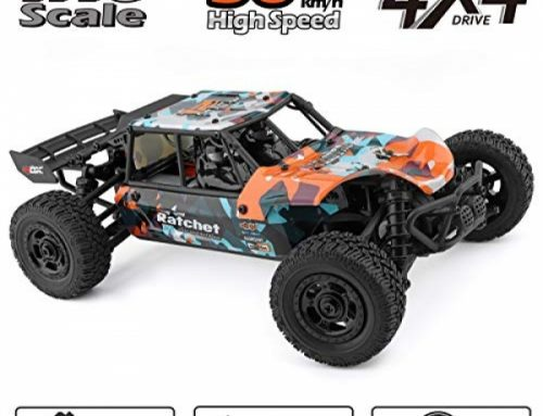 HAIBOXING RC Vehicles 1:18 Scale 4 wheel drive Off-Road Buggy 36+KM/H High Crawl 18856, 2.4 GHz All-Terrain Water-resistant Radio Controlled Trucks,