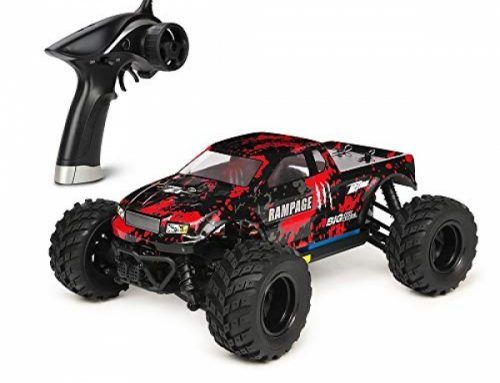 HBX 1:18 Scale All Terrain RC Automobile 36KM/H Excessive Speed, Four wheel power Electrical Automobile,2.Four GHz Radio Controller, Included Battery and Charger,Water-resistant Off-Highway Truck (Purple)