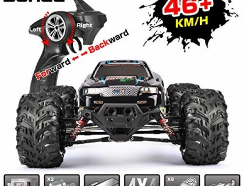RC Automobile Remote Earn an eye on Automobile Gargantuan Scale 1:10 46km/h RTR RC Monster Truck Dual Motor four wheel pressure for Adults &