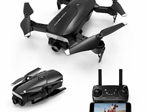 Foldable Drone with 720P HD Digicam, 2.Four Ghz RC Quadcopter, a hundred and twenty° Huge-Attitude, Altitude Sustain, Voice Lend a hand a watch on,
