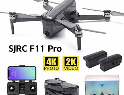 MOSTOP SJRC F11 First-charge RC Drone 5G WiFi FPV GPS RC Drone Foldable 2K Digicam Account Video App Administration iOS Android One-Key RTH Apply Me 3D Visible Track Flight Headless (F11 First-charge + 2 Battery)