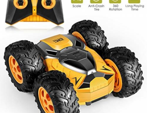 RC Stunt Car for Young folks, Electric 1/18 four wheel force Far away Adjust Car Off Avenue Car 2.4Ghz Excessive Tempo Rock Crawler 360° Rotating Flip Young folks Toy Cars,
