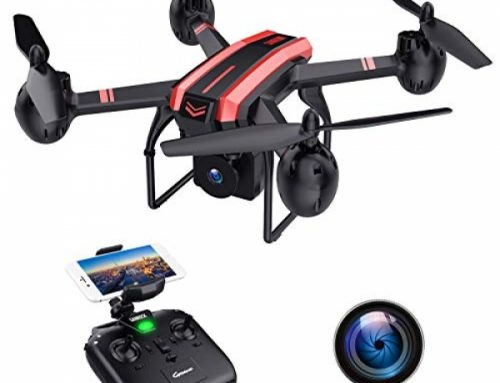 SANROCK X105W Drones with Digicam for Adults 720P HD WiFi Actual-time Video Feed. Lengthy Flying Time 17Mins, Altitude Retain, Gravity Sensor,