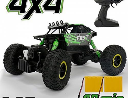 RC Car for Boy Toy, Nqd 1: 18 Twin Motors Remote Withhold watch over Truck, 2.4Ghz Four wheel force Off Avenue Remote Withhold watch over Car with Two Rechargeable Batteries,