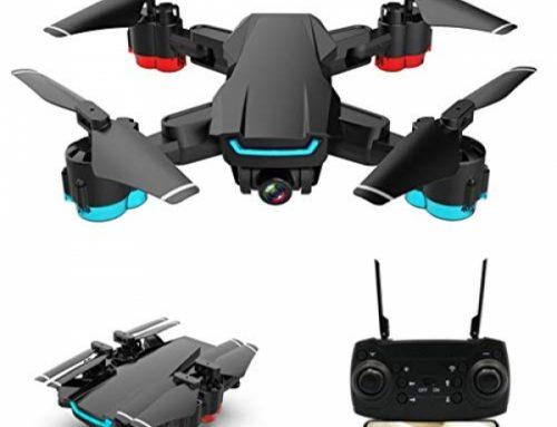 Ranoff Helicopter XD101 2.4G 4CH WiFi FPV 4K HD Twin Camera Wide Perspective Headless Foldable RC Drone (B)