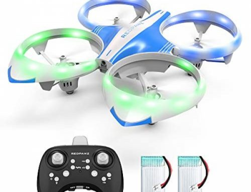 Mini Drone for Children Adults – LED Mini RC Nano Helicopter 2.4G 6-Axis Gyro Drone for Children & Beginners with Altitude Defend, Infrared Sensing, 3D Flips,