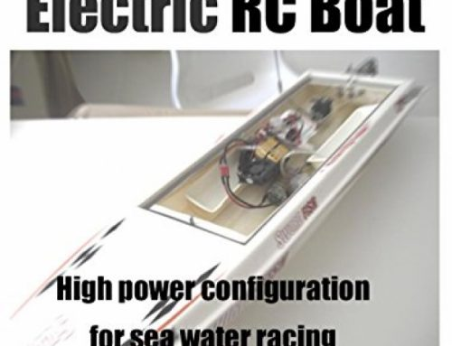 Electric RC Boat High Energy Configuration for Intermediate-to-Evolved Racers