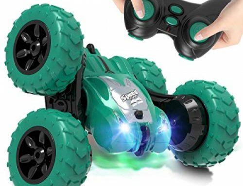 AFUNX A ways away Management Automobile,RC Stunt Double Sided 360° Rolling Rotating Rotation Vehicles, High Tempo Off Road Racing Truck for 3 4 5 6 7 8-12 Year Passe Boy Childhood Toy (Inexperienced)