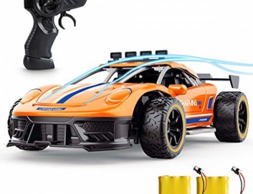 Remote Control Automobile, SPESXFUN Excessive Flee 2.4Ghz 1/16 RC Automobile, Radio Electric RC Vehicles Toy Vehicles Mannequin Automobile with Two Rechargeable Batteries, Hotfoot with the float Racing Automobile Toy Automobile Yule Gift for Boys Ladies and Adults