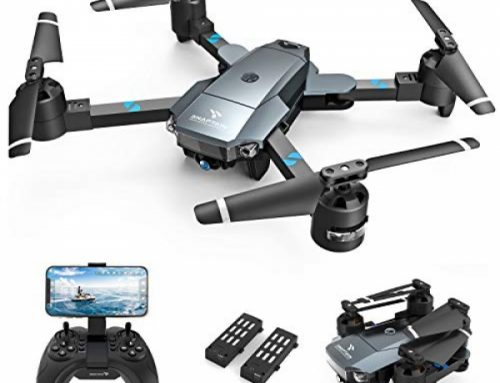 SNAPTAIN A15H Foldable Drone with 1080P HD Camera FPV WiFi RC Quadcopter for Inexperienced persons, Optical Creep Positioning, Affirm Adjust, Gesture Adjust, Trajectory Flight, Circle Creep,