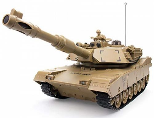 1:28 RC US MIA2 Military Fight Tank, A ways flung Lend a hand an eye on Militia Vehicles with Rotating Turret and Sound, 9 Channels, Military Toys for Kids Boys,