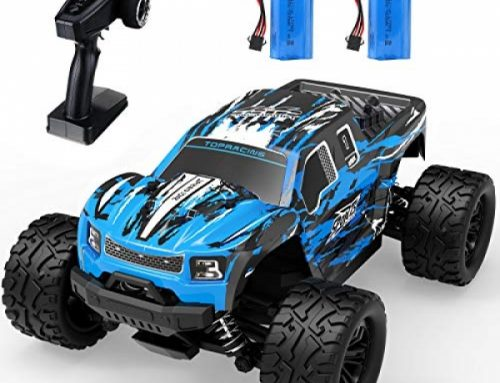 RC Off-Boulevard Truck, EACHINE EC08 Faraway Preserve watch over Automobile 40 Km/h 30+MPH 65 Mins Usage Time 4×4 4wd Monster Passion RC Truck Rapid Water-resistant…