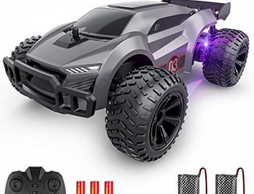 EpochAir A ways away Encourage watch over Automobile – 2.4GHz Excessive Stride Rc Autos, Offroad Pastime Rc Racing Automobile with Colourful Led Lights and Rechargeable…