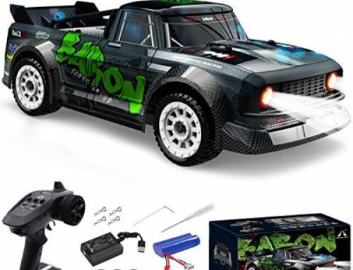 Fisca 1/16 Some distance away Receive watch over High Bound Car, Four wheel drive RC Drifting Racing Cars Lickety-split 20MPH Truck 2.4Ghz Off-Dual carriageway 4X4…