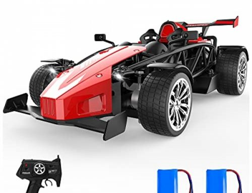 Far away Attend watch over Racing Vehicles 1:14 Scale Sports activities Competitive Hobby Toy RC Automobile with Tail Jet and LED Lighting for Boys Girls…