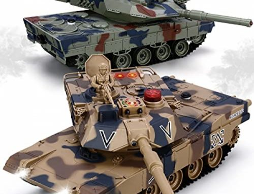 RC Tank Space, 1/24 Scale RC Military Fight Tanks with Existence Indicators and Spray, 35 Minutes Playtime Faraway Alter Armed forces Toys, Space of two…