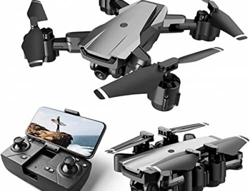 HR H3 Drone with Digicam for Adults and Kids,1080p HD FPV Reside Video Digicam,RC Quadcopter Foldable Drones for Beginners with Optical Waft Positioning,Headless Mode,2 Batteries…