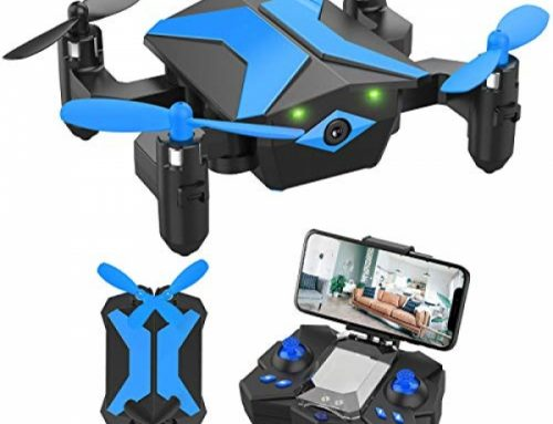 Drone with Camera Drones for Youngsters Freshmen, RC Quadcopter with App FPV Video, Relate Regulate, Altitude Support, Headless Mode, Trajectory Flight, Foldable Youngsters Drone Boys…